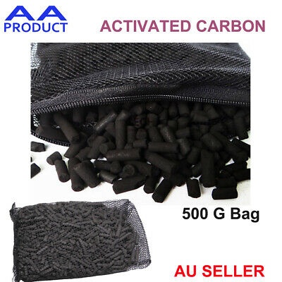 500g Activated Carbon Air and Water Filter Purification for Car Fridge Fish Tank