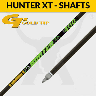 Gold Tip Hunter XT Shafts - Carbon Arrows for 3D Target Archery and Hunting