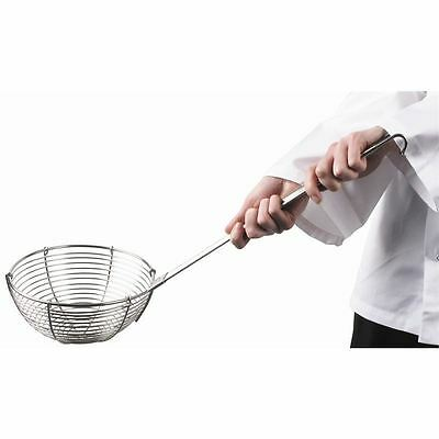 Vogue Vegetable Ladle 220mm Kitchen Craft Cooking Utensil Straining Spoon