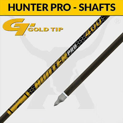 Gold Tip Hunter PRO Shafts - Carbon Arrows for 3D Target Archery and Hunting