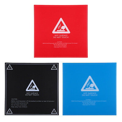 HICTOP Sheet build for 3D printer hot bed 214mm*214mm ABS / PLA compatible 3pcs