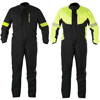 Alpinestars Hurricane Moto Motorcycle One Piece Rain Suit All Colours & Sizes
