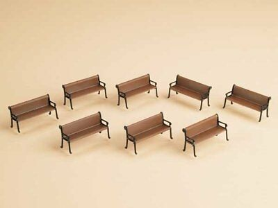 Auhagen 43648 8 Bench in TT Construction Set