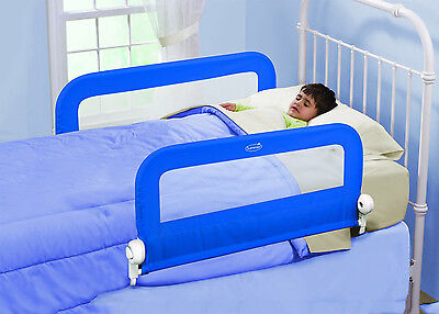 Summer Infant Grow With Me Double Bed Rail - Blue - NEW