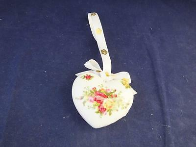 Royal Albert Old Country Roses Heart Ornament - Not Boxed.
