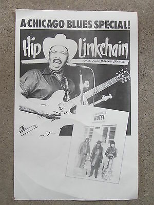 CHICAGO BLUES poster HIP LINKCHAIN w Rich Kirch & Frank Bandy