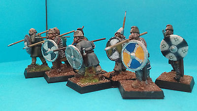 Painted 28mm Dark Age Spear armed Warriors (no.2) SAGA (metal)