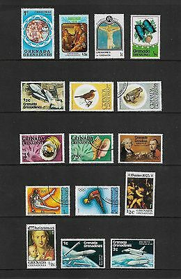 GRENADA GRENADINES - mixed collection No.3