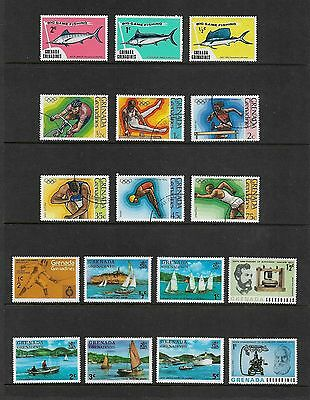 GRENADA GRENADINES - mixed collection No.4