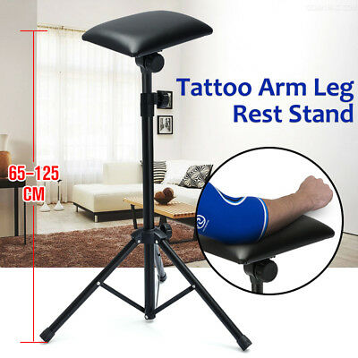 Bracciolol Adjustable Tattoo Height Arm Leg Rest Supply Tripod Stand Fascia