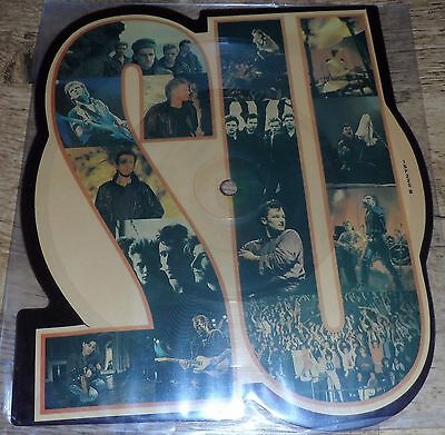 """U2 7"""" - The Unforgettable Fire (Shapped Picture Disc)"""