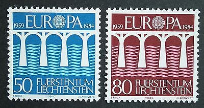 Liechtenstein (1984) Europa CEPT Bridges - Mint (MNH)