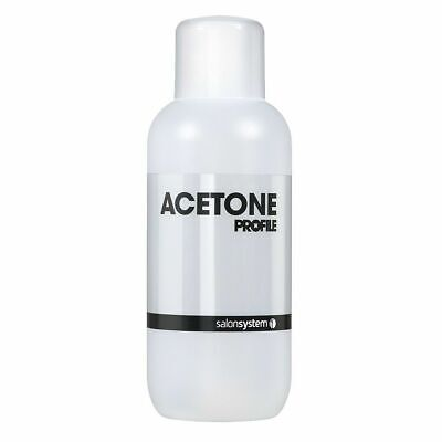 Salon System Profile Acetone Nail Polish Remover Cleanser Cleaner 500ml
