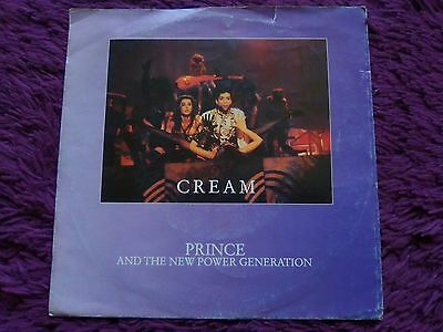 """Prince And The New Power Generation – Cream ,Vinyl, 7"""", 1991, Europe"""