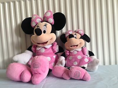 Disney Store Exclusive Minnie Mouse Plushes X2
