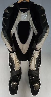 *Dainese Bora *One Piece *Motorcycle Leather Suit *Track Race *EU 52 UK 42