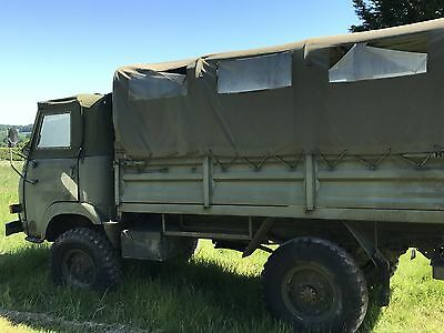 Renault Saviem 4x4 ex-military troop carrier *Ideal Beater Wagon for Shoot Days*