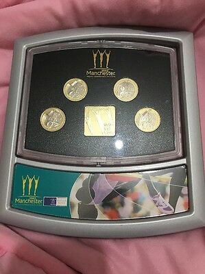 Royal Mint 2002 Commonwealth Games Proof Coins £2 Pound 4 Coin Collection Set
