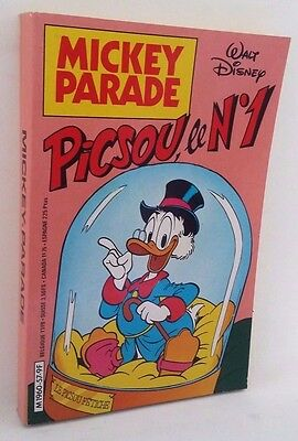 Mickey Parade n°57 Picsou le n°1 mensuel disney 1984 Comme neuf