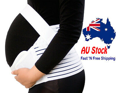 Maternity Pregnancy Belly band Abdominal Back Support Strap Band Belt Size M L X