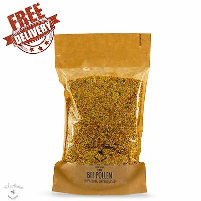 Bee Pollen Granules 100% Pure Organic Natural Raw And Unprocessed
