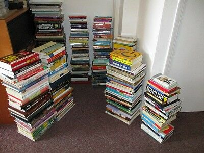 300+ Books Huge Job Lot - Mostly Non Fiction - Car Boot / Resale / Market