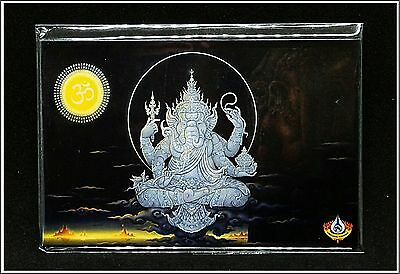 Collectible Ganesha Magnet Hindu 3D Prints Paintings , Wat Rong Khun -Thailand