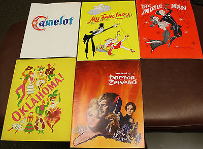 Lot Of 4 Vintage Broadway Shows And Off Programs And Playbills Theatre + 1 film