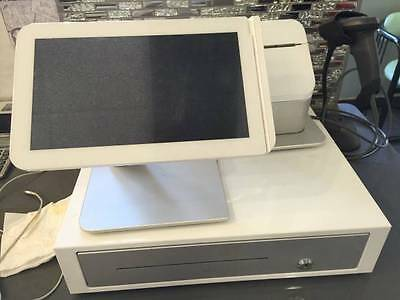 Clover C100 POS Point of Sale System, WIFi Touch Screen, Cash Drawer & Printer