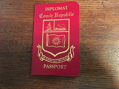 3 Souvenirs Passport Conch Republic Great For Pets, Family, Fun Only Lot Of 3