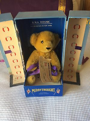 Merrythought Titanic Teddy Bear, Limited Edition