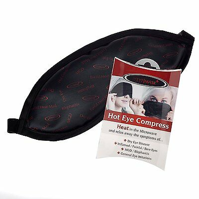 The hot Eye compress - A Hot Eye mask Heat Bag for Dry Eye, Blepharitis, MGD