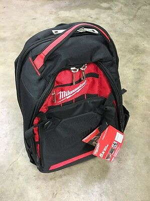Milwaukee 48-22-8200 Durable Heavy Duty Jobsite Backpack for Tools & Laptop