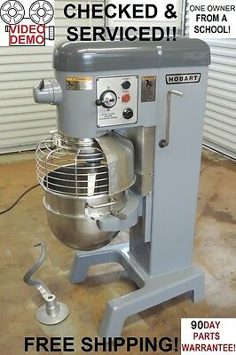 Hobart D330 HD 30 Qt Quart Commercial Pizza Bakery Dough Mixer From a School!!