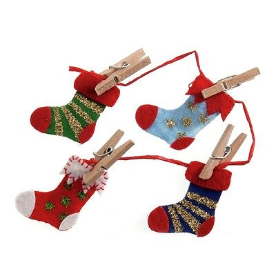 Craft For Occasions Stocking Washing Line Embellishment For Cards/Craft