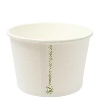 Vegware Compostable Soup Container Bowl Paper Food Takeaway Disposable
