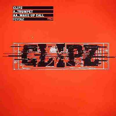 """Clipz- Trumpet/ Wake Up Call 12"""" Full Cycle Drum and Bass Vinyl"""