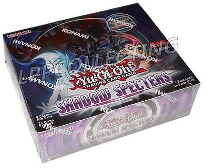 YUGIOH: BOX 24 BUSTINE SPETTRI DELL'OMBRA / SHADOW SPECTER in INGLESE