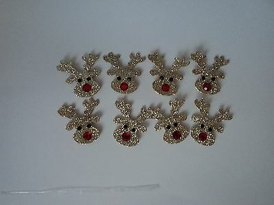 Craft For Occasions Christmas Reindeers Embellishment For Cards/craft