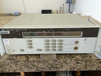 HP 5350B Microwave Frequency Counter