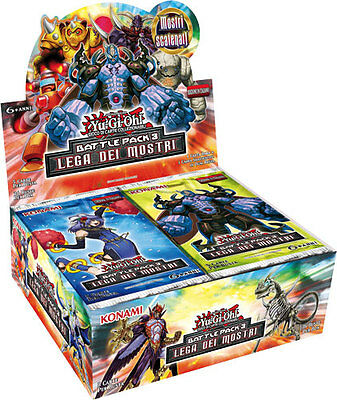YU-GI-OH!: BOX 36 BUSTINE BATTLE PACK 3 LEGA DEI MOSTRI in ITALIANO