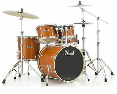 PearlEXL705NP 5 Piece Shell Pack in Honey Amber