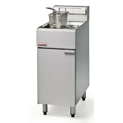 FastFri by Moffat Freestanding Single Pan Double Basket Natural Gas Deep Fryer