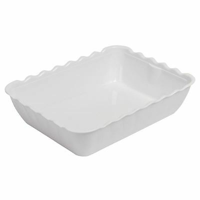 Kristallon Salad Crock 4.25Ltr White Cup Kitchenware Catering Bowl Tableware