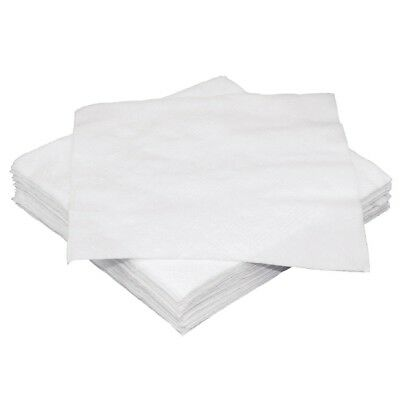 Pack of 2000 Fiesta White Cocktail Napkin 250 x 250 mm Paper