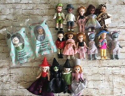 Lot of 17 Madame Alexander for McDonald Happy Meal Toy Dolls Oz & More (BinD)