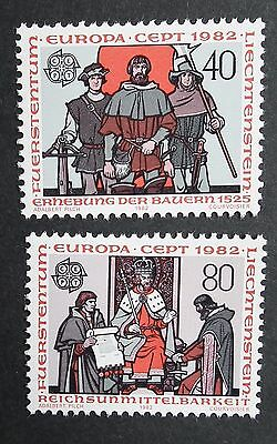 Liechtenstein (1982) Europa CEPT / Royalty - Mint (MNH)