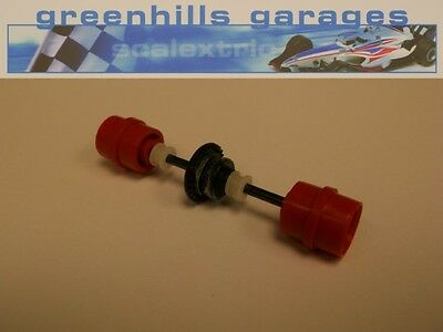 Greenhills Scalextric Team Simpson C616 Rear Axle & Wheels Used – P2644