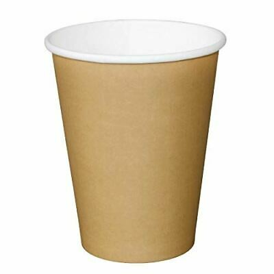 Fiesta Disposable Brown Hot Cups 450ml - Pack of 1000 | Cardboard