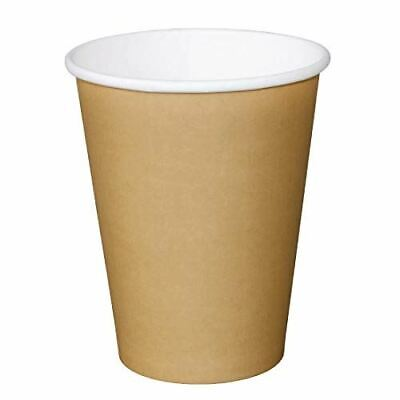 Pack of 1000 Fiesta Disposable Brown Hot Cups 450ml Cardboard